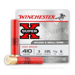 Winchester 410Ga 3 Inch Number 6 shot $ 26.40