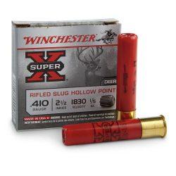 Winchester 410ga 2.5 Inch rifled slug hp Pk 5 $ 11.45