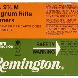 Remington 9 1 2M large rifle magnum primer tray of 100 $ 10.55