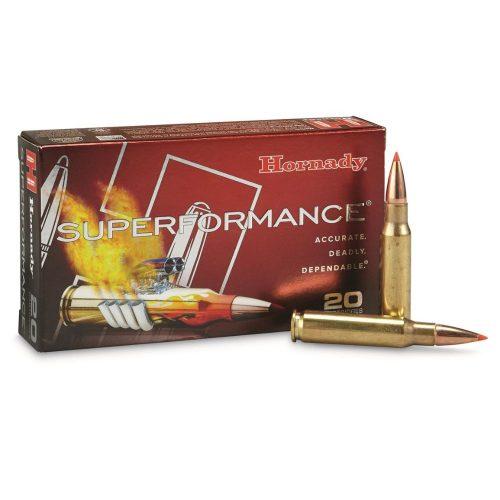 Hornady Superformance 308win 165gr SST loaded ammo brass cartridge crimped primer 2840fps MV Box of 20 $ 57.70