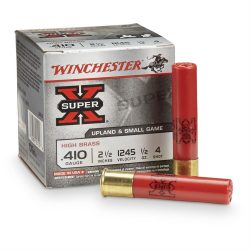 Winchester 410Ga 2.5 Inch Number 4 Shot size $ 24.20