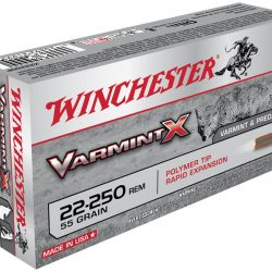 Winchester 22-250rem 55gr Polymer tip rapid expansion varmint ammo Box of 20 $ 33.45