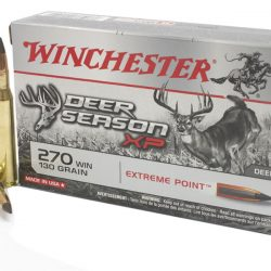 Winchester deer season 270 130gr extreme point ammo box of 20 $ 40.50
