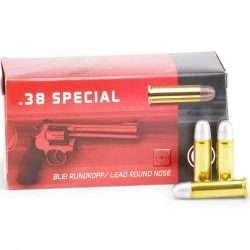 Geco 38 Special brass 158gr lead round nose Box of 50 $ 27.55