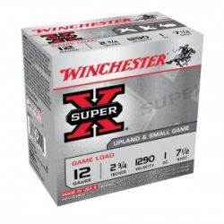 Winchester 12ga Shot size 7.5 1oz 1290fps Field load case of 250 rounds $ 94.00