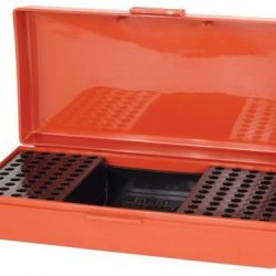 MTM 22 Rim fire ammo box holds 100 rounds plus box - stop watch $ 32.90