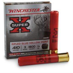 Winchester 410ga 3 inch hollow point slug .25oz Box of 5 $ 11.45
