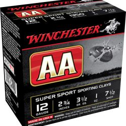 Winchester 12ga Shot size 7.5 1oz 1150fps Case of 250 rounds $ 96.45