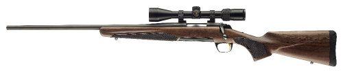 Browning Left hand 22 varmint blue barrel timber stock $ 1095.00