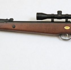 Beeman 1051 .177cal Break Barreled blued barrel action timber stock with scope $ 300.00