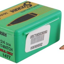 Sierra S1410 .224 54gr hollow point boat tail match king projectile Box of 100 $ 49.50
