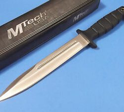 Mtech MT-20-69SL 200mm fixed straight blade with synthetic sheath $ 42.15