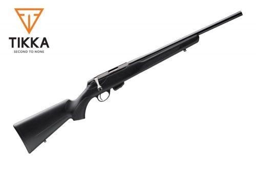 Tikka T1 Multi task rifle right hand Bolt action 10 shot box magazine 500mm 19.75in SIMI Heavy barrel threaded muzzle blue barrel action synthetic stock $ 970.00