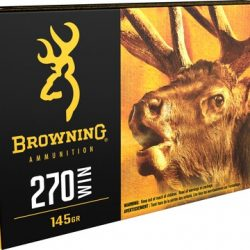 Browning 270win 145gr BXC Controlled Expansion Terminal Tip ammo Box of 20 $ 54.55