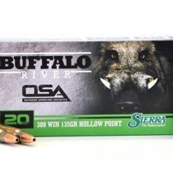 OSA 308win 135gr Sierra hollow point 3000fps Ammo Box of 20 $ 43.45