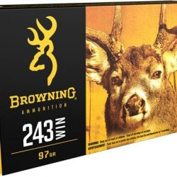 Browning 243Win 97gr Rapid expansion Matrix bronz point ammo Box of 20 $ 35.20