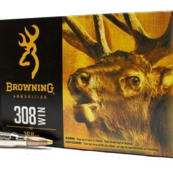 Browning 308win 168gr Controlled Expansion Terminal Tip ammo Box of 20 $ 54.55