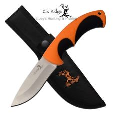 Elk Ridge Fixed 100mm Skinner orange and black handle $ 33.35