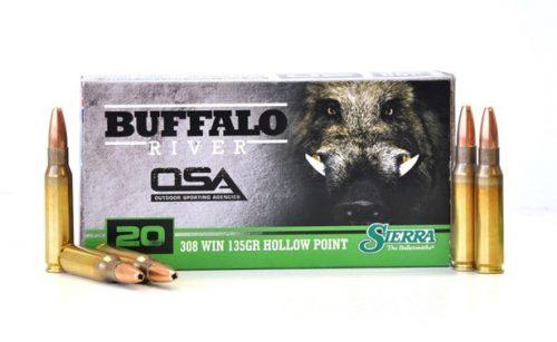 OSA 308win 135gr Sierra hollow point 3000fps Ammo Box of of 20 $ 43.45
