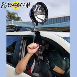 Powa Beam Window Mount with 220mm Handle