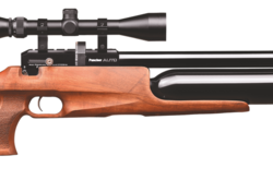 Kral puncher PCP air rifle .22cal blue action plastic stock $ 770.00