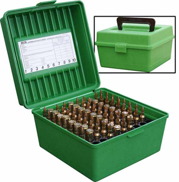 MTM R 100 Ammo box to suit Magnum size cartridges holds 100 $ 33.15