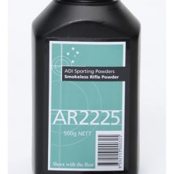 ADI AR2225 Reloading powder 500 Grams $ 55.00