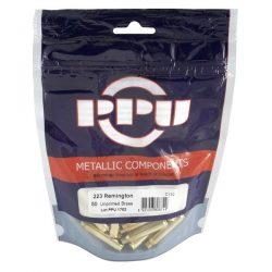 PPU 223 un primed single flash hole Bag of 50 $ 21.55