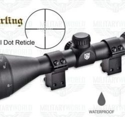 Nikko Stirling 4-12x50 AO Half Mil Dot mount master with rimfire rings $99.00