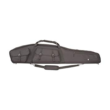 Allen 55 Inch black tactical padded gun bag with side pockets $ 142.00