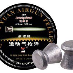 Qiang Yuan Air gun pellets .177 8.2gr Flat Nose match grade Hard tray Box of 200 $ 9.70