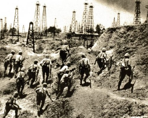 Japanese soon captured the southern oilfields.