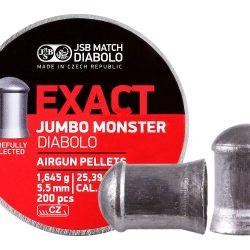 JSB .22 Exact Jumbo monster 25.4gr pellets 200 pellets per tin $ 19.80