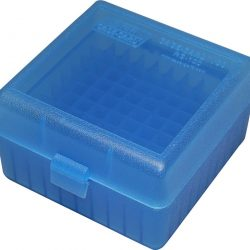 Ground force plastic ammo Box small 9mm holds 100 rounds MTM Style hinge $ 10.00
