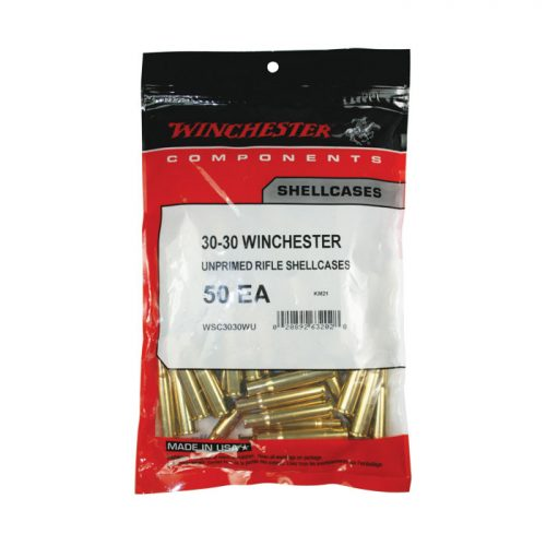 Winchester 30-30 unprimed brass Bag of 50 $ 37.75