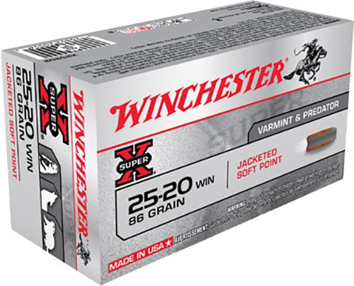 Winchester 25-20 86gr SP Pk 50 $ 140.00