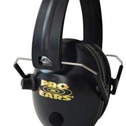 Pro Ears pro 200 black electronic ear muffs use 1x NRR 19 Battery $ 92.50