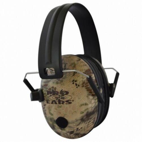 Pro ears pro 200 electronic highland camo ear muffs use 1x NRR 19 battery $ 92.50