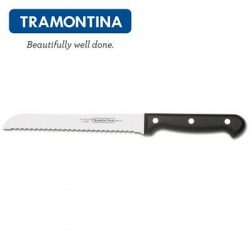Tramontina 200mm Bread knife high carbon stain free knife with black handle $ 33.10