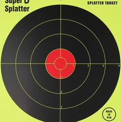 Spatter Bulls eye targets High vis 8 inch $ 18.15