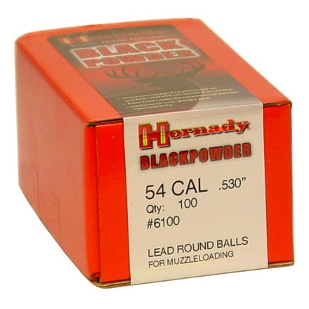 Hornady .530 round ball Box of 100 $ 27.55