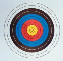 Redzone 75cm single face archery cardboard target each $ 8.80