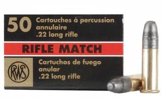 RWS R50 match grade .22cal 40gr 1081 feet per second packet of 50 $ 30.45