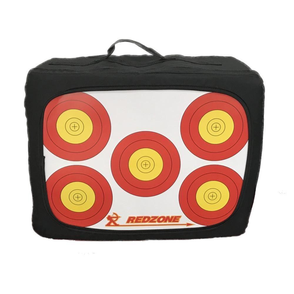 Red Zone 5 spot 50cm Archery target cardboard each $ 6.60