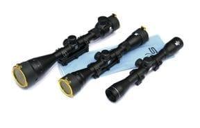 Sabre 4x40 Rimfire scope 1 inch .25 in adjustment duplex retical with 3-8 rimfire rings $ 68.75
