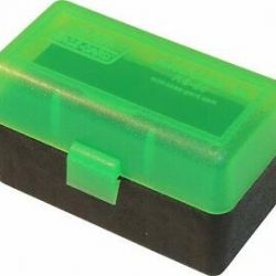 MTM 50 Round hinged 204 223 Ammo Box green $ 8.35