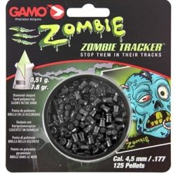 Gamo .177 Zombie 7.8gr Glow in the dark tipped pellets Tin of 125 pellets $ 27.40