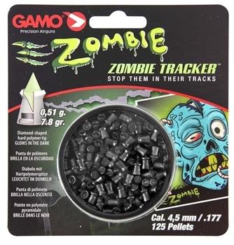 Gamo .177 Zombie 7.8gr Glow in the dark tipped pellets Tin of 125 pellets $ 27.40