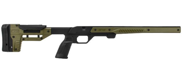 ORYK 1 piece alloy chassis black and olive drab 2000 gram to fit Howa 1500 Mini action rifles uses legacy format magazine $ 577.00