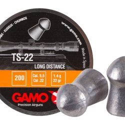 Gamo TS22 Long range pellet .22Cal 21.75gr pointed round nose long distance competition pellet Tin of 200 $ 9.05